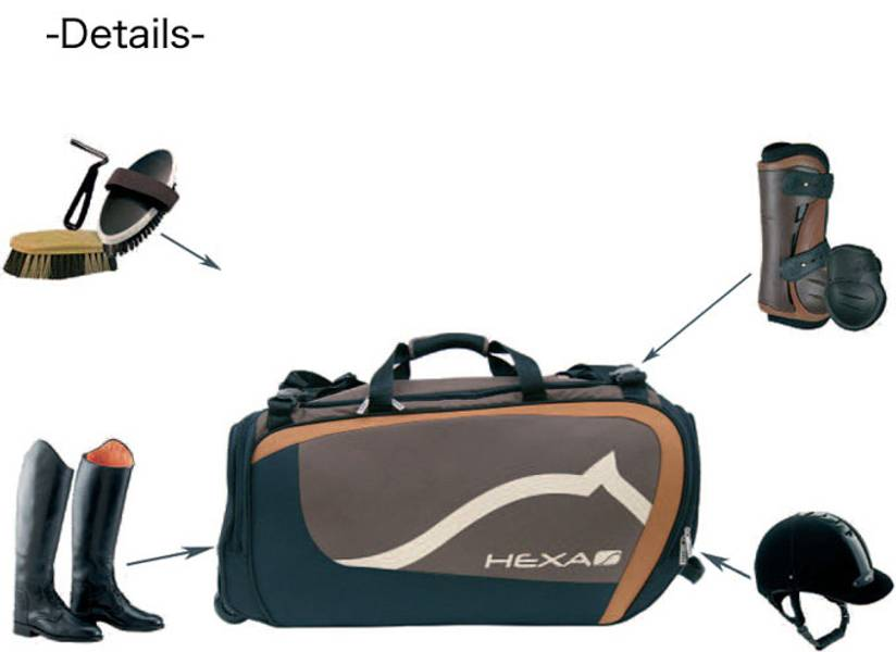 Hexa Deluxe Competition Bag